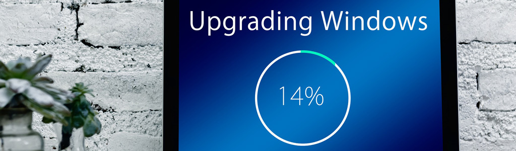 upgrading windows 10