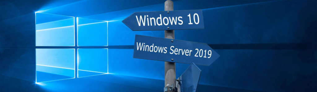 windows10 server2019